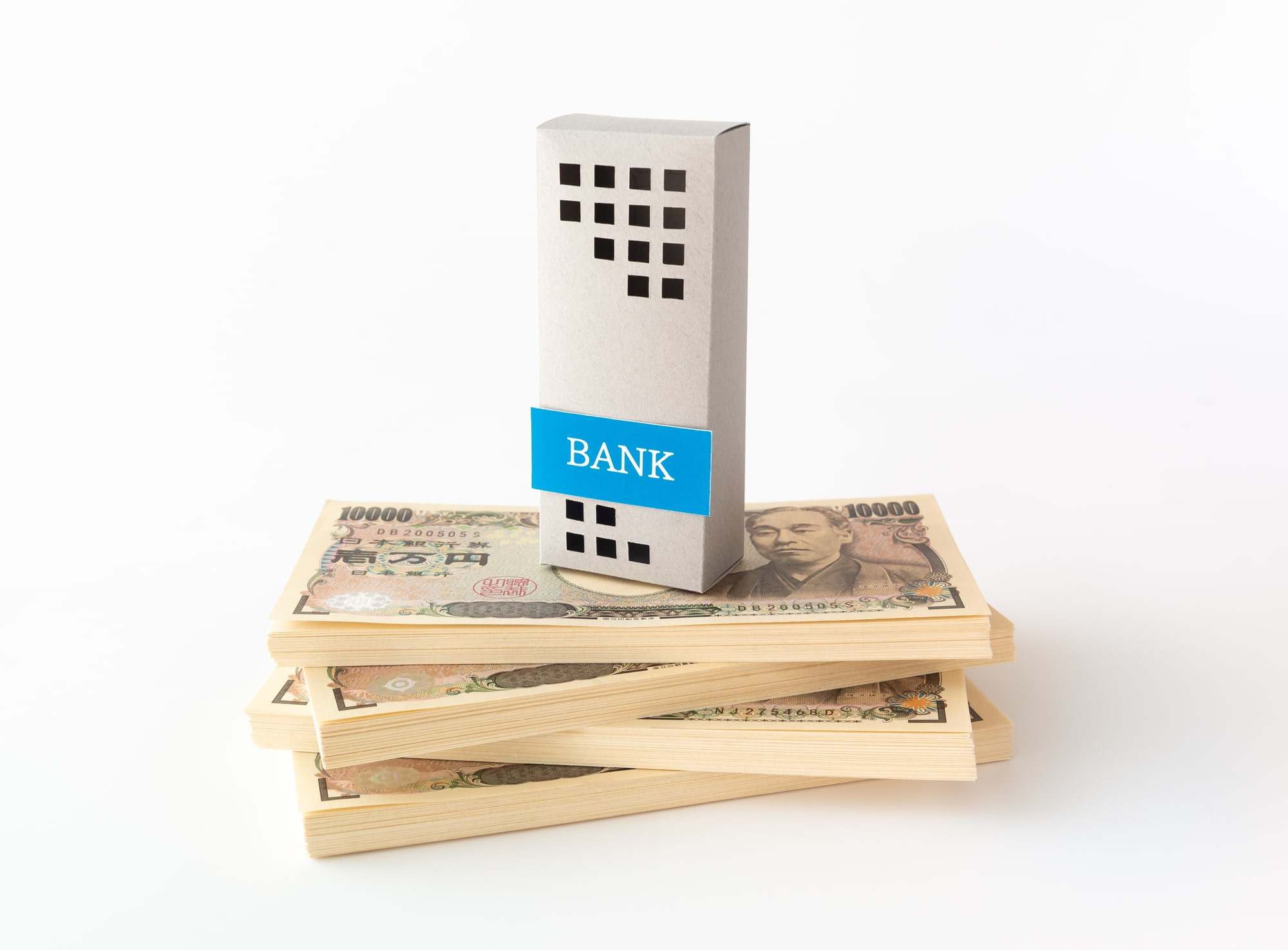 不動産投資 銀行イメージ