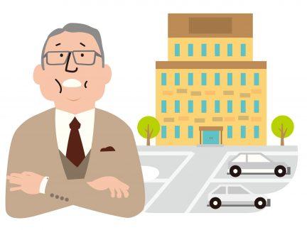 駐車場経営について考える人